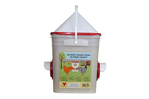 RentACoop Chicken Feeder Grain Bucket