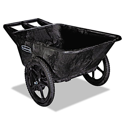 Rubbermaid Commercial Products Plastic Yard Cart